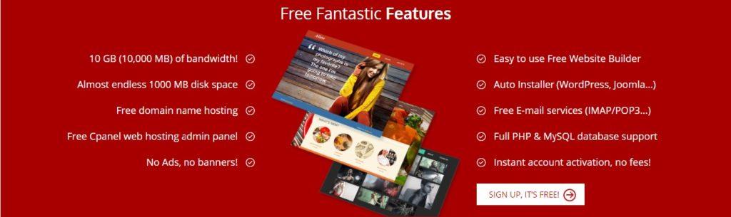 000webhost.com free web hosting