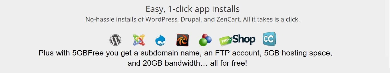 5gbfree.com free web hosting no ads