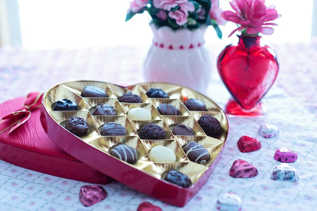Personalised chocolates this valentine day gift for her